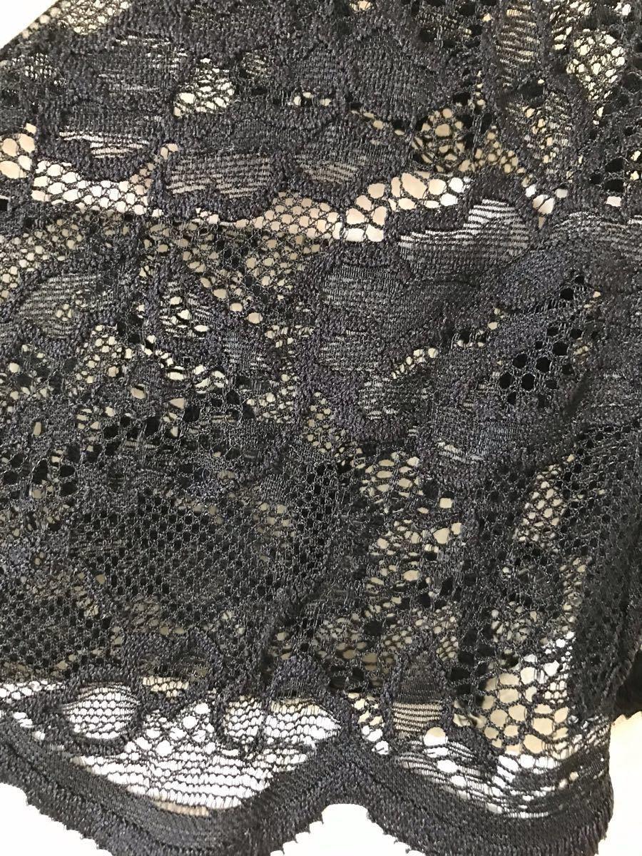 【再値下げ】Tシャツ トップス カットソー 半袖 レディース レース H&M