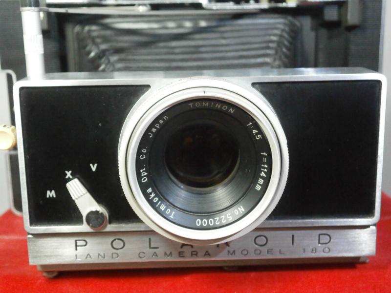 POLAROID 180 / ポラロイド カメラ / 外観 美品に近い / 蛇腹問題なし_画像5