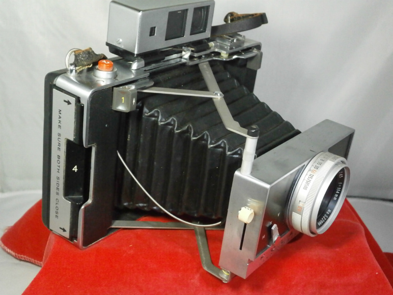 POLAROID 180 / ポラロイド カメラ / 外観 美品に近い / 蛇腹問題なし_画像7