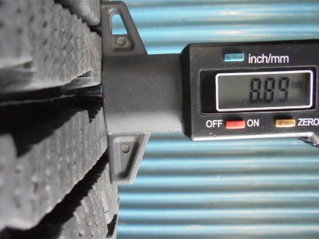 即決!ダンロップ GRASPIC DS-2 185/65R15 4本 9.5分溝 程度良好!_画像6