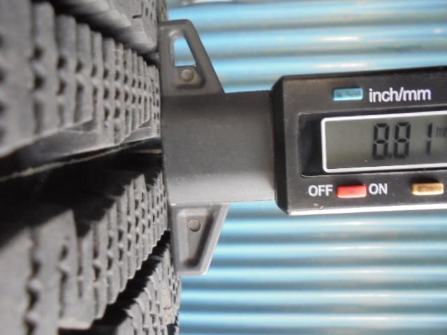 即決!ダンロップ GRASPIC DS-2 185/65R15 4本 9.5分溝 程度良好!_画像7