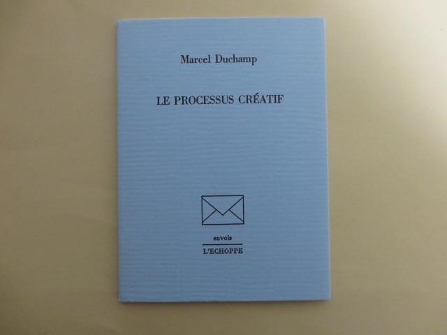 Le Processus Cratif Marcel Duchamp 限定版 フランス語・英語 1987年 フランス刊 L'ECHOPPE マルセル・デュシャン_画像1