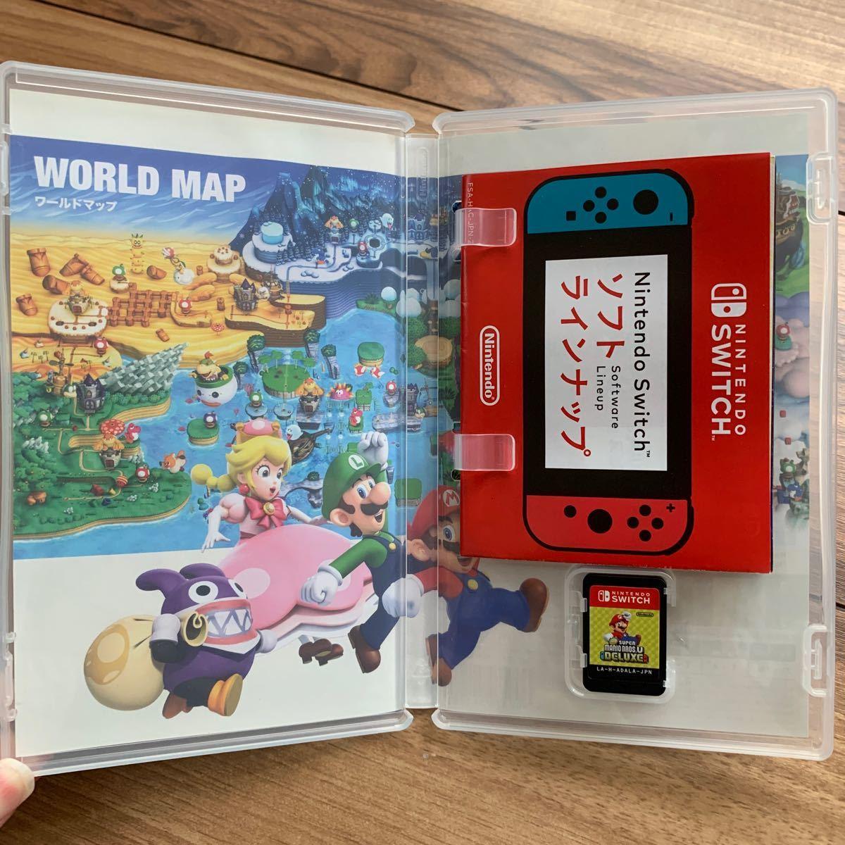 Switch スーパーマリオブラザーズUデラックス