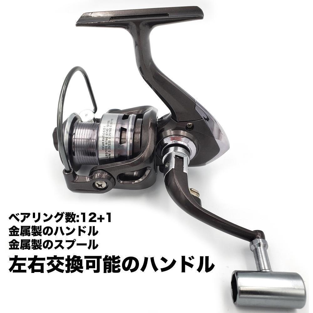 YU59 スピニングリール 釣りリール リール 4000番_画像5