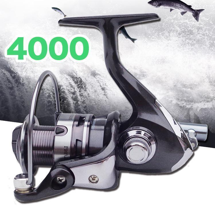 YU59 スピニングリール 釣りリール リール 4000番_画像1