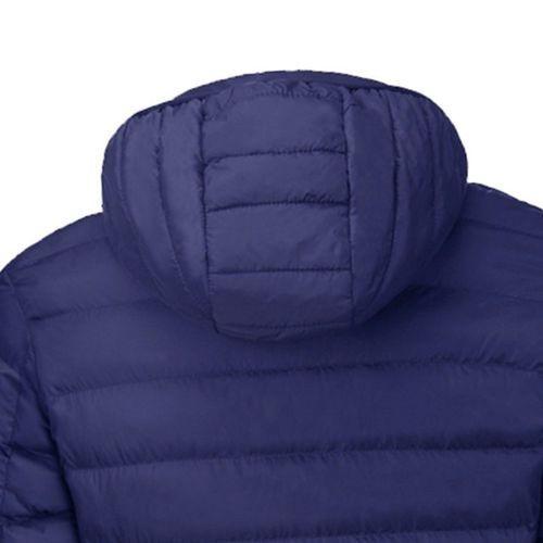 ◆新品◆最安値下げ 電熱ダウンジャケット 発熱 コート ヒートベスト ジャケット 防寒 USB 温度調節 スキー 登山 釣り_画像3