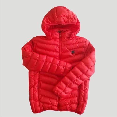 ◆新品◆最安値下げ 電熱ダウンジャケット 発熱 コート ヒートベスト ジャケット 防寒 USB 温度調節 スキー 登山 釣り_画像8