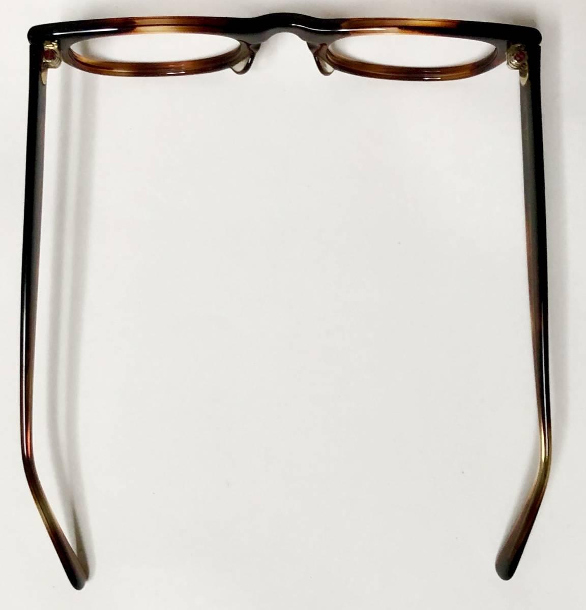 新品・1960年代頃】アメリカンオプティカル AO メガネ American Optical アンバー 米国製 ビンテージ / ヴィンテージ_画像9
