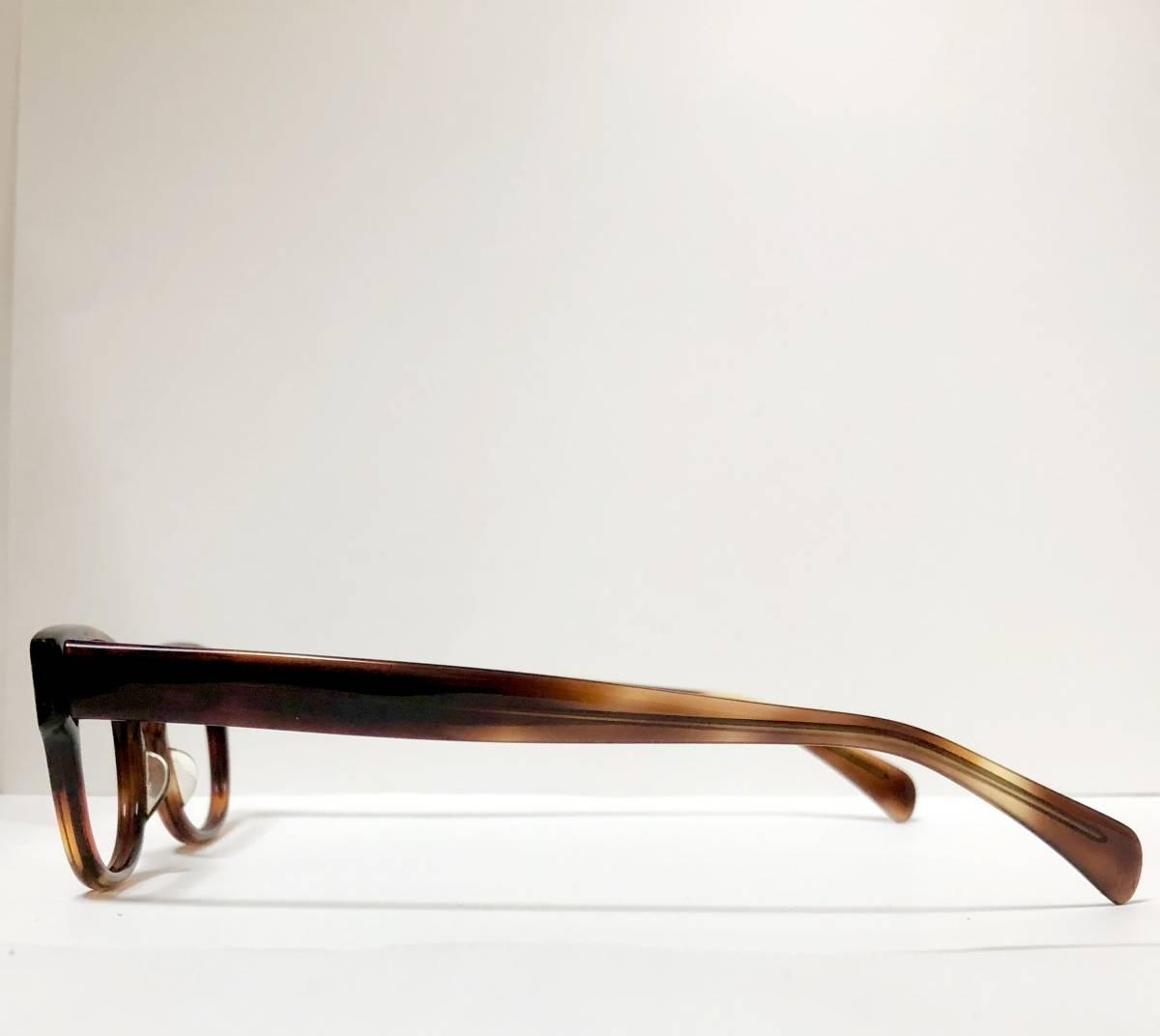 新品・1960年代頃】アメリカンオプティカル AO メガネ American Optical アンバー 米国製 ビンテージ / ヴィンテージ_画像5