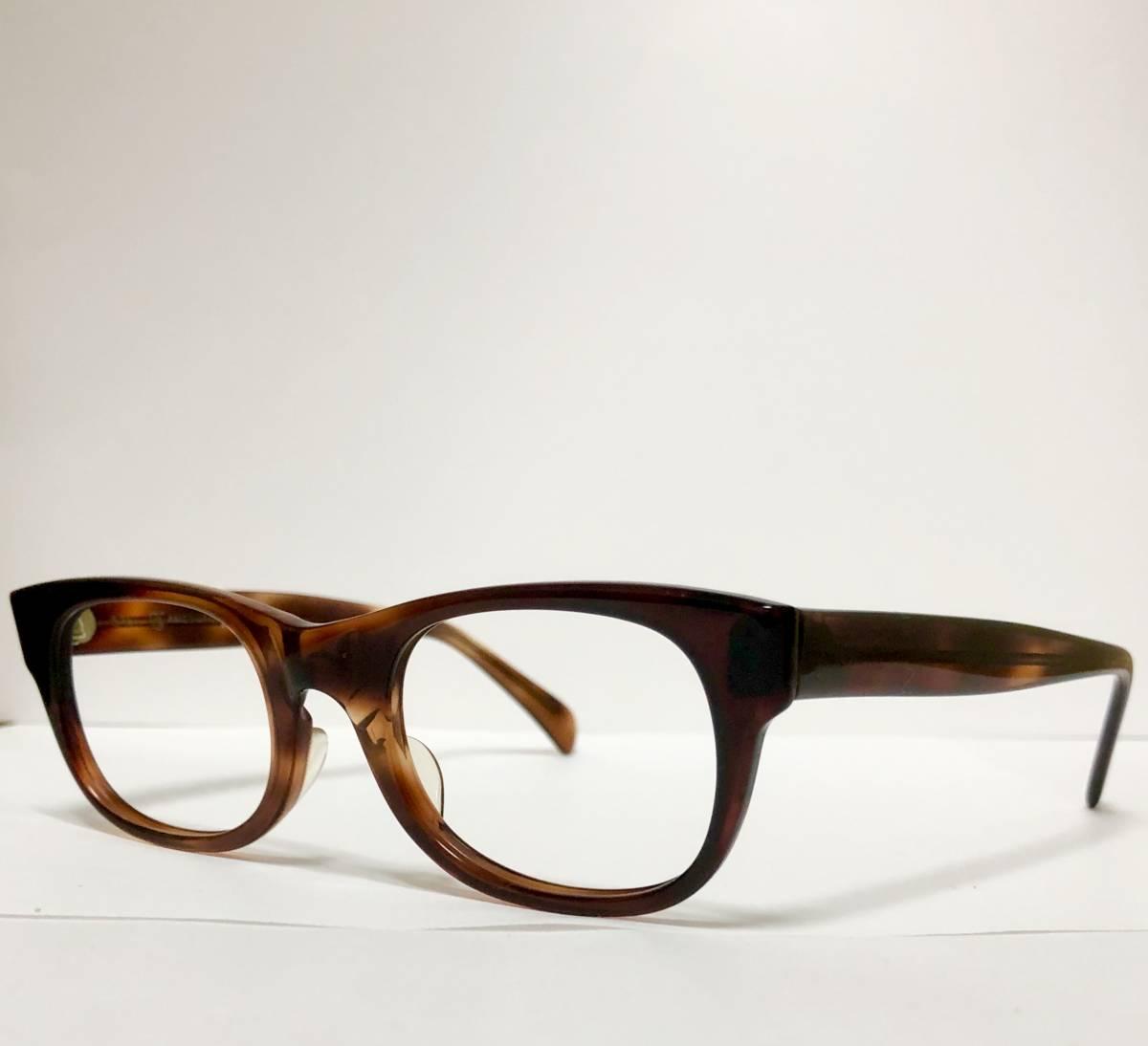 新品・1960年代頃】アメリカンオプティカル AO All純正 メガネ American Optical アンバー 米国製 ビンテージ ヴィンテージ _画像4