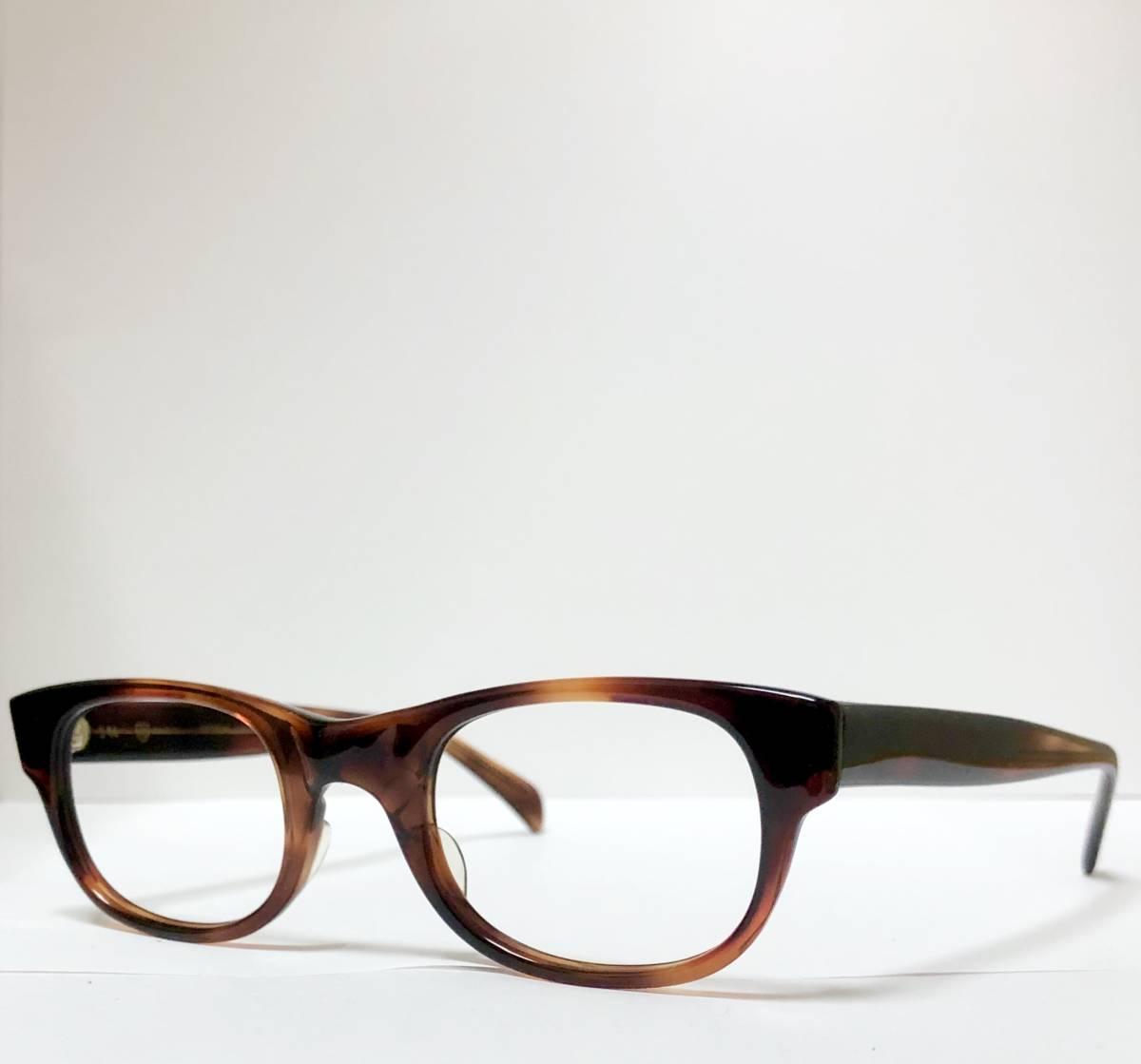 新品・1960年代頃】アメリカンオプティカル AO メガネ American Optical アンバー 米国製 ビンテージ / ヴィンテージ_画像4