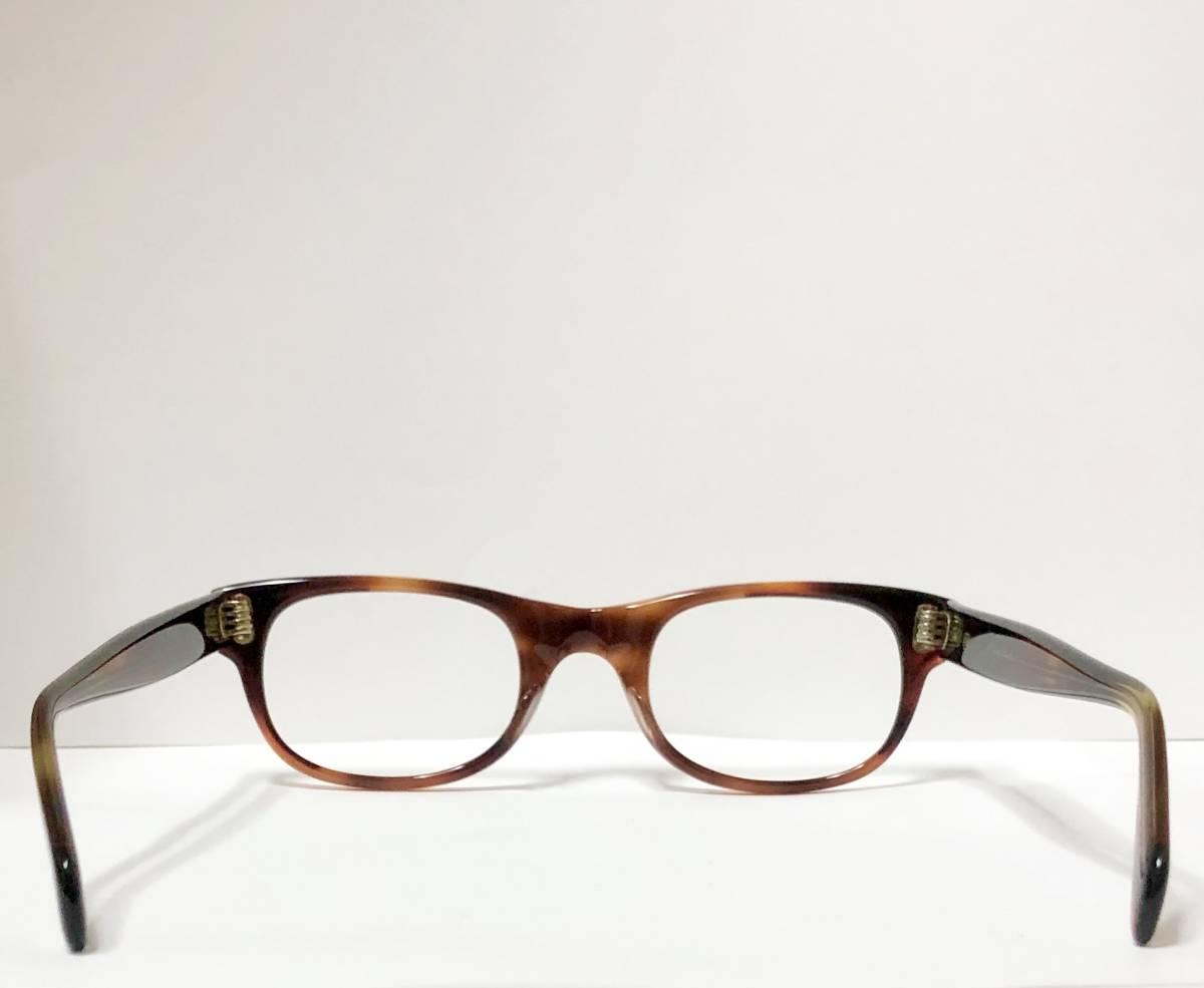 新品・1960年代頃】アメリカンオプティカル AO メガネ American Optical アンバー 米国製 ビンテージ / ヴィンテージ_画像8