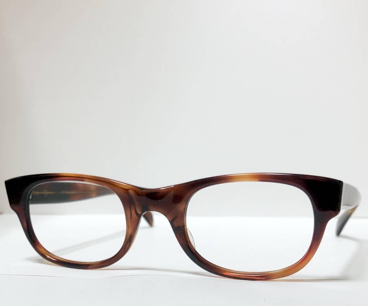 新品・1960年代頃】アメリカンオプティカル AO メガネ American Optical アンバー 米国製 ビンテージ / ヴィンテージ_画像3