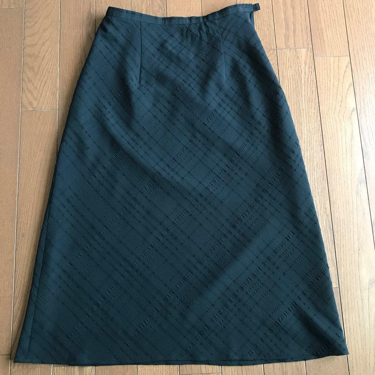 黒 ロングスカート タイトスカート