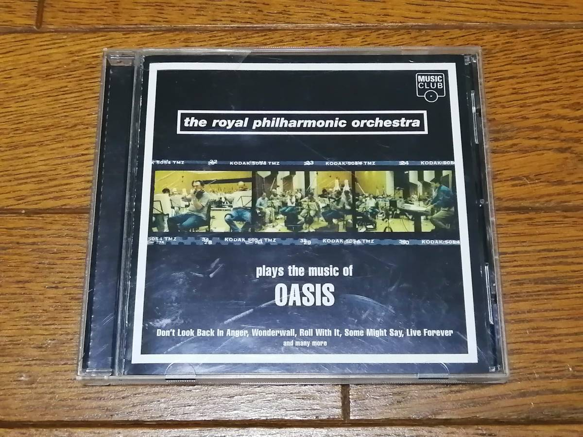 Plays the Music of Oasis ロイヤル・フィルハーモニー管弦楽団 オアシス CD The Royal Philharmonic Orchestra