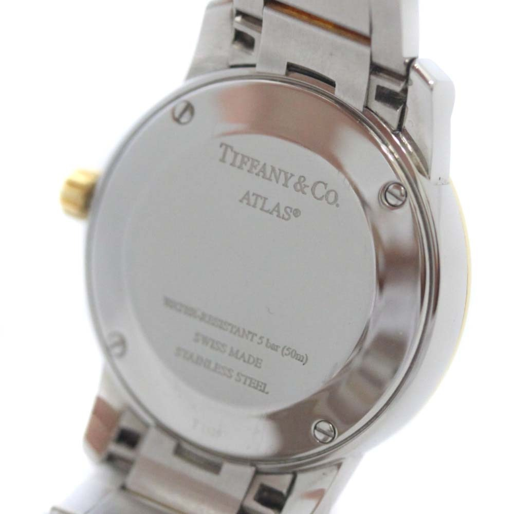 即決 ティファニー アトラスドーム 腕時計 レディース クオーツ ホワイト文字盤 コンビ Z1830.11.13A21A00A_画像4