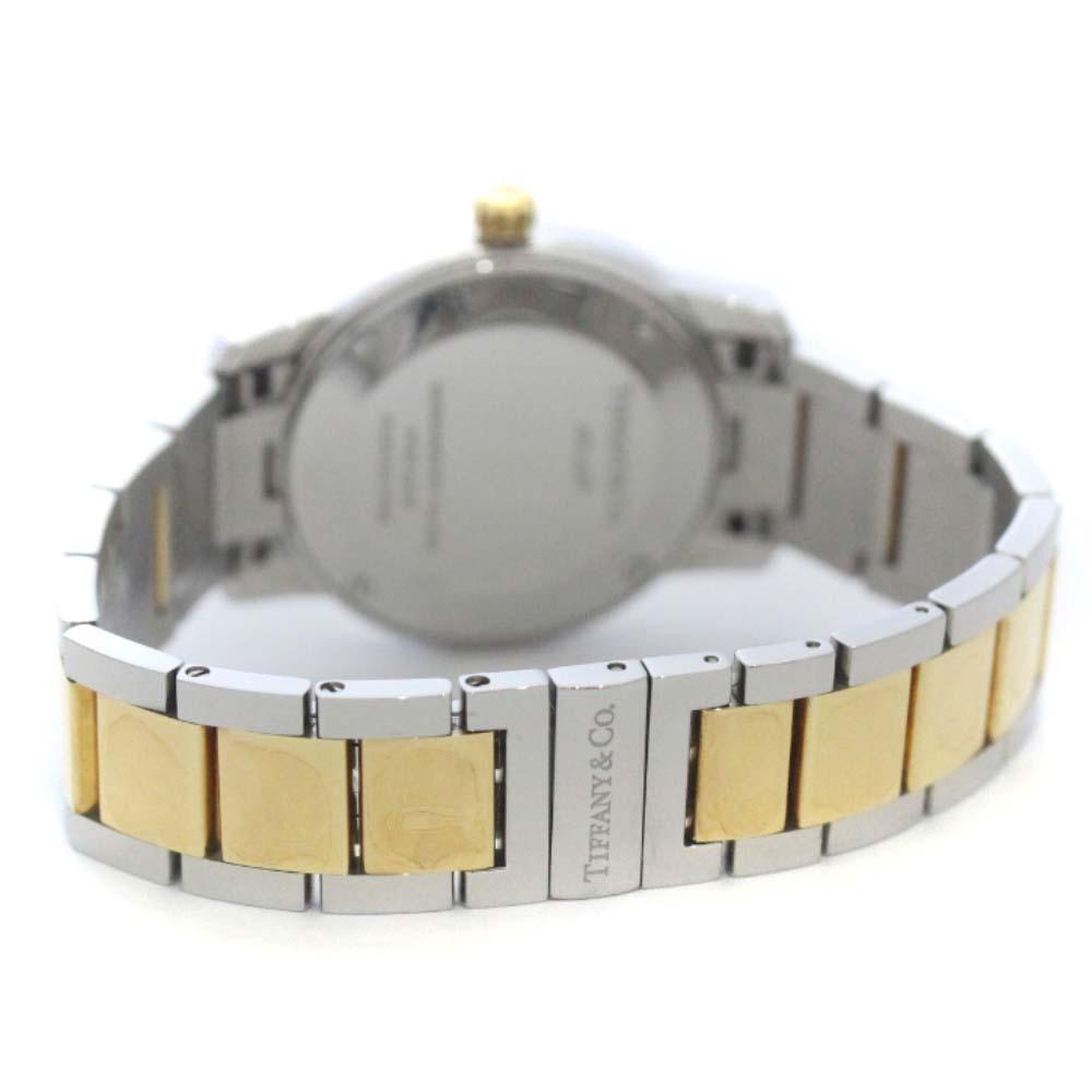 即決 ティファニー アトラスドーム 腕時計 レディース クオーツ ホワイト文字盤 コンビ Z1830.11.13A21A00A_画像8