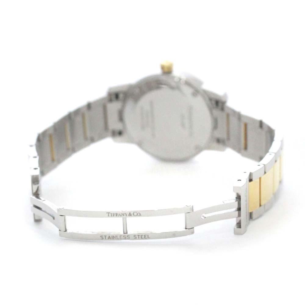 即決 ティファニー アトラスドーム 腕時計 レディース クオーツ ホワイト文字盤 コンビ Z1830.11.13A21A00A_画像7