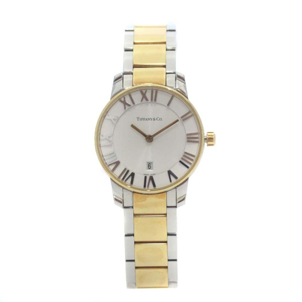 即決 ティファニー アトラスドーム 腕時計 レディース クオーツ ホワイト文字盤 コンビ Z1830.11.13A21A00A_画像2