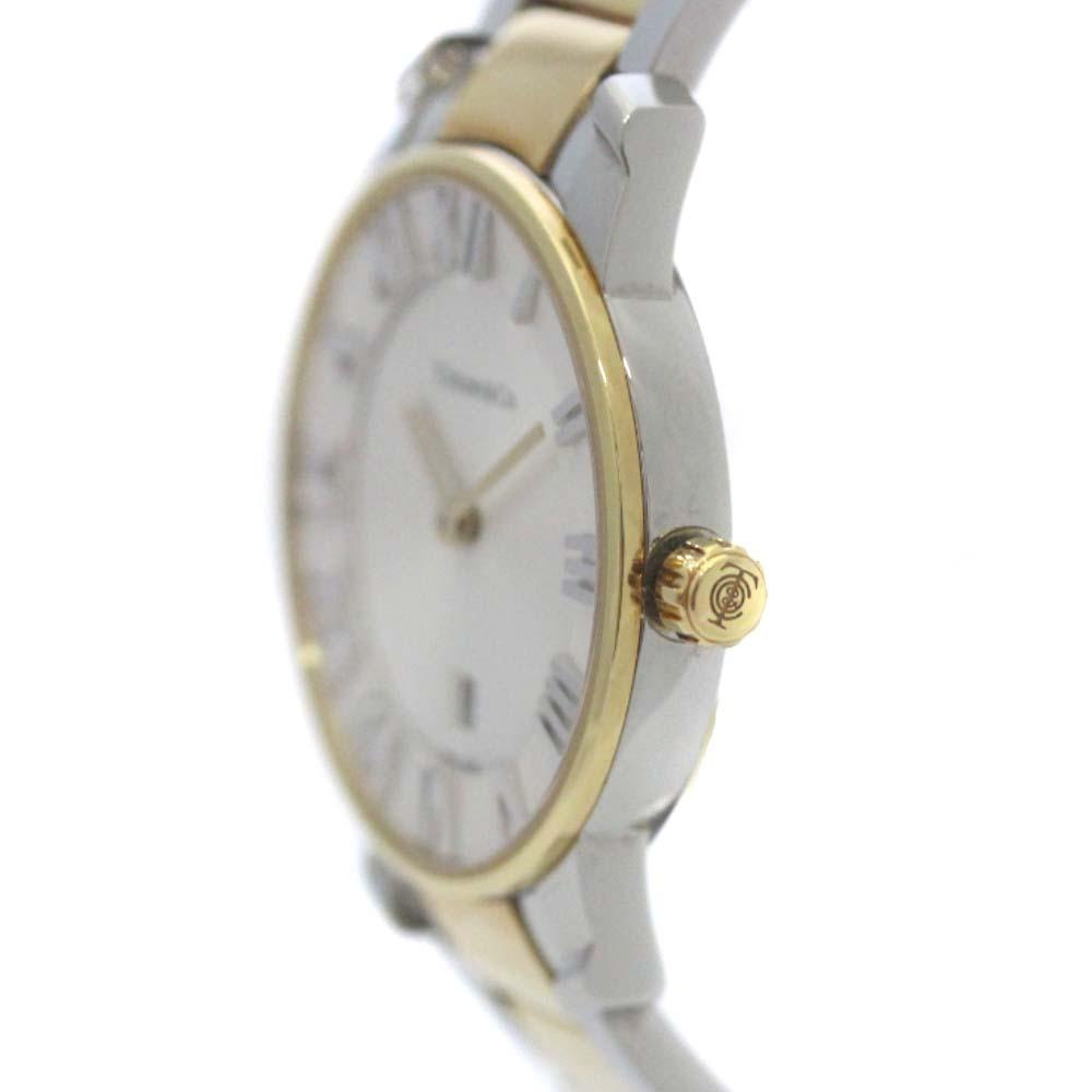 即決 ティファニー アトラスドーム 腕時計 レディース クオーツ ホワイト文字盤 コンビ Z1830.11.13A21A00A_画像5