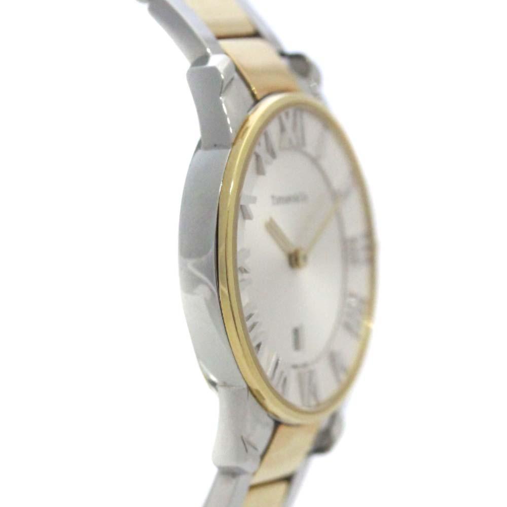 即決 ティファニー アトラスドーム 腕時計 レディース クオーツ ホワイト文字盤 コンビ Z1830.11.13A21A00A_画像6