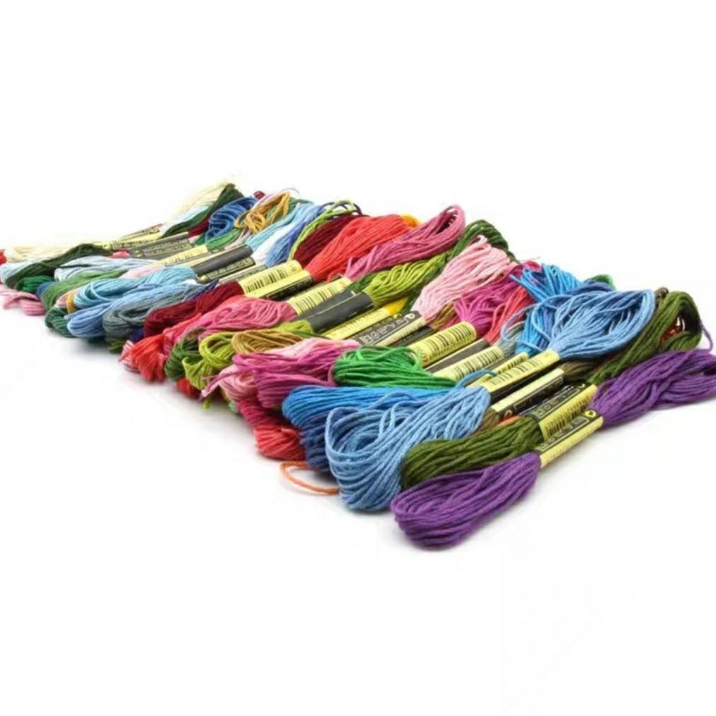 刺繍糸 100束 刺繍 セット  クロスステッチ パッチワーク ミサンガ キット