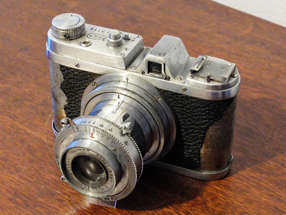 【中古/稀少/ジャンク】上田写真機店(スターカメラワークス) ヴェロ・フォアー F:Ueda Camera(Star Camera Works) Vero Four F_画像1