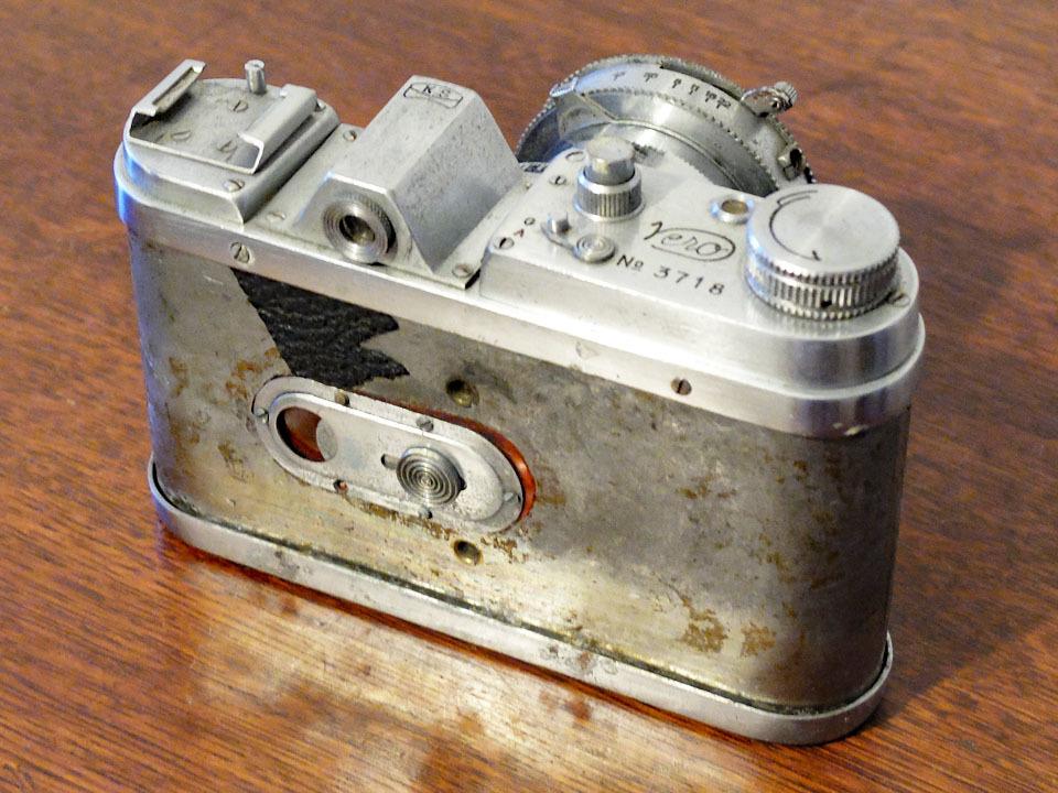 【中古/稀少/ジャンク】上田写真機店(スターカメラワークス) ヴェロ・フォアー F:Ueda Camera(Star Camera Works) Vero Four F_画像2