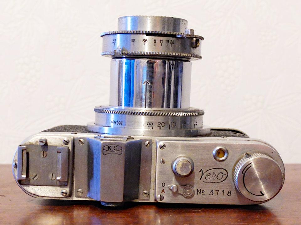 【中古/稀少/ジャンク】上田写真機店(スターカメラワークス) ヴェロ・フォアー F:Ueda Camera(Star Camera Works) Vero Four F_画像3