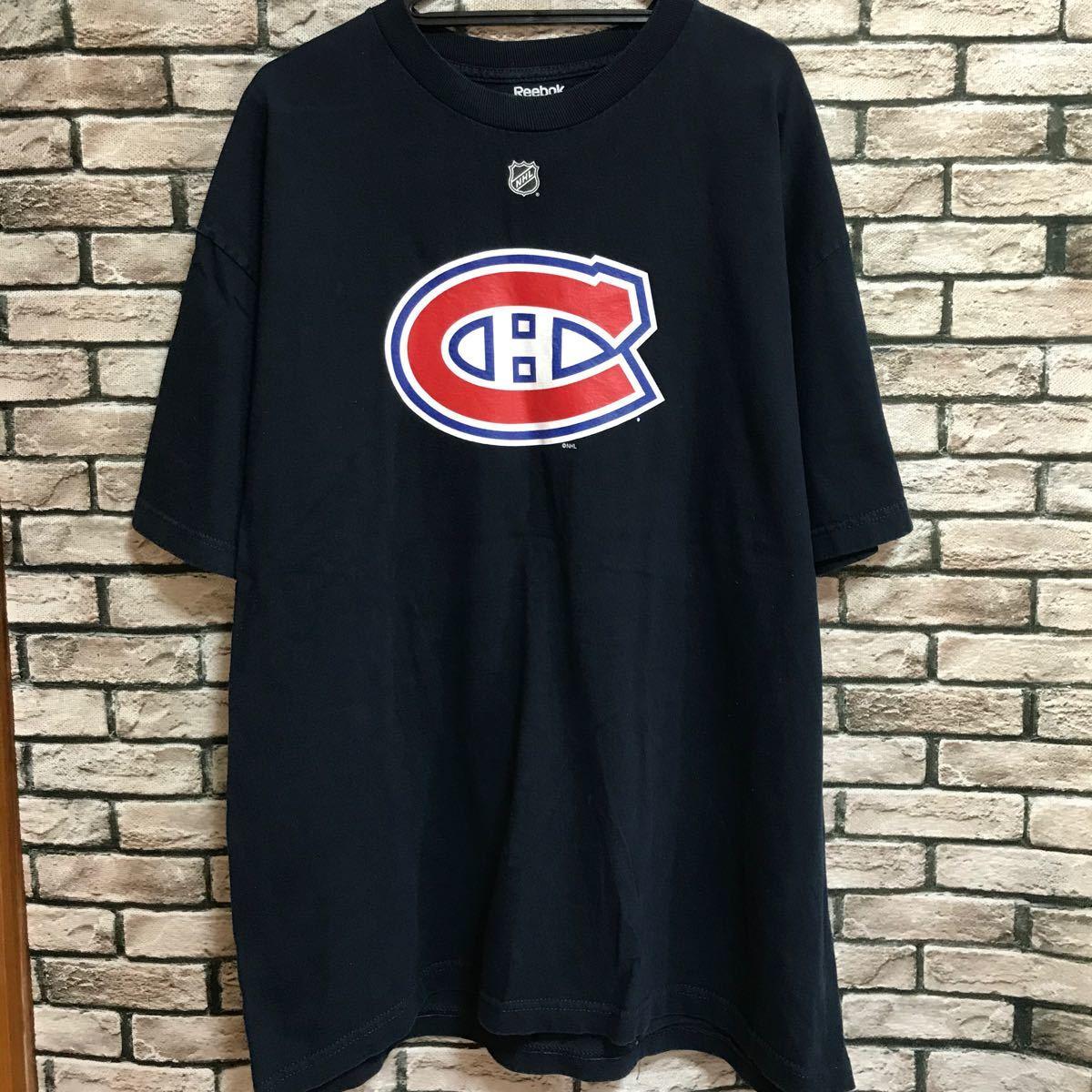 Reebok リーボック NHL モントリオール・カナディアンズ tシャツ 半袖