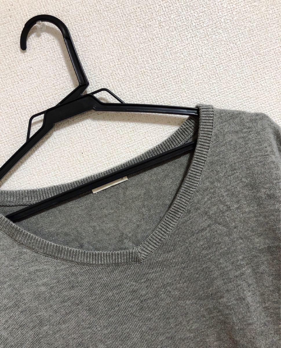 サマーセーター 半袖ニット ジーユー