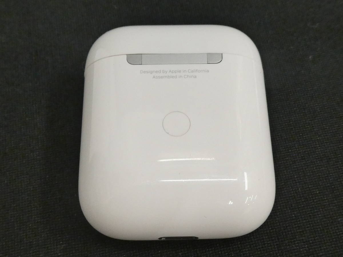 *D【Apple アップル Airpods エアーポッズ】A1938/(R)A2032/(L)A2031/Bluetooth ワイヤレス イヤホン イヤフォン[R] _画像7