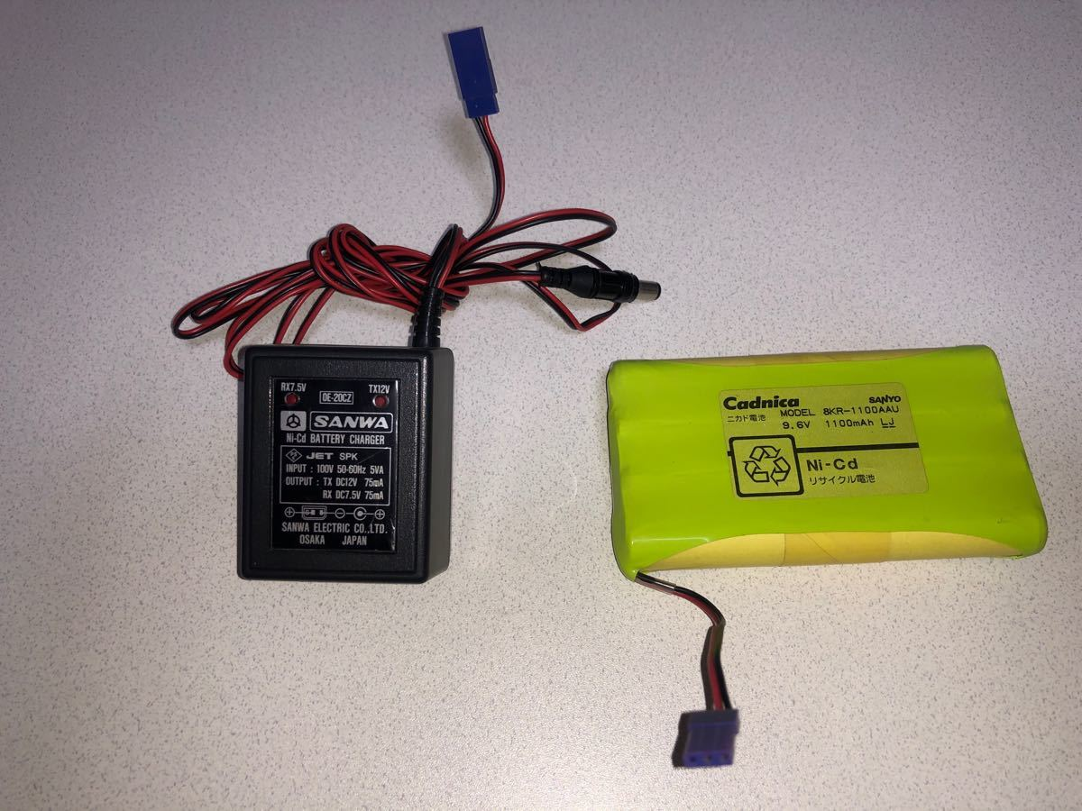 ラジコン用 バッテリー及び充電器