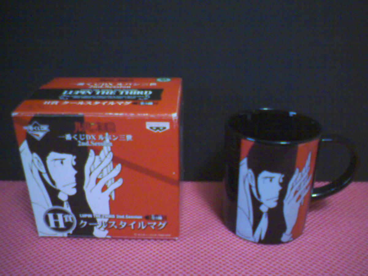 新品 ルパン三世 マグカップ 陶器 2011 モンキーパンチ 一番くじ 景品 非売品 希少品  送料510円_画像1