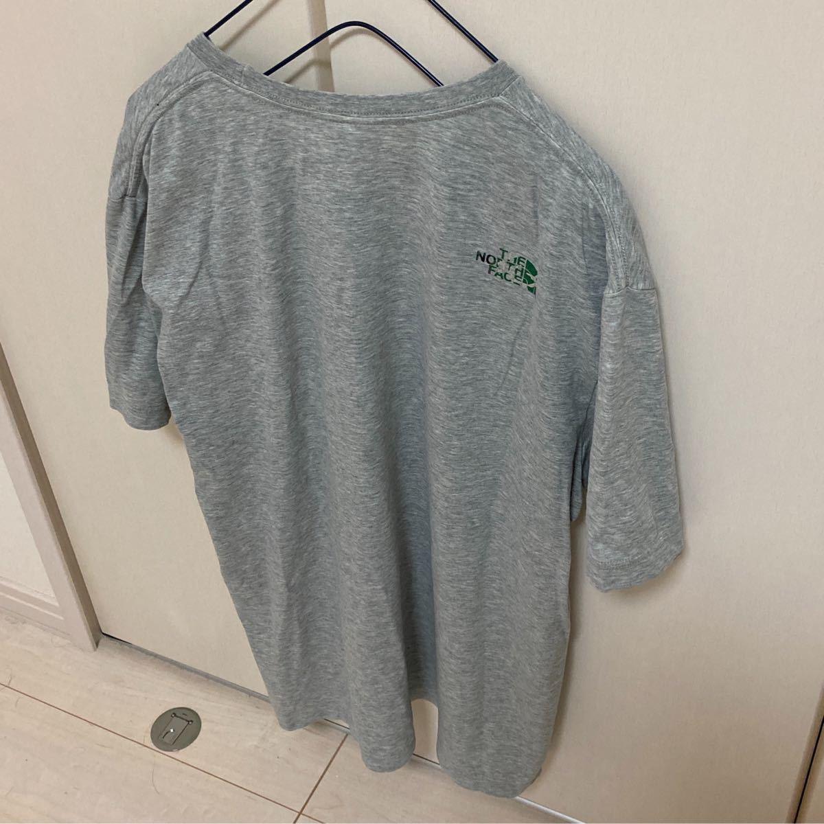 ノースフェイス Tシャツ 迷彩ロゴ