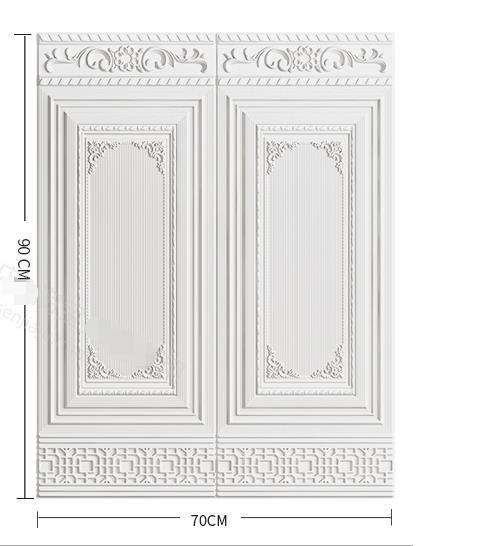 極美品!★10枚7.0mm厚 70cm×90cm 背景壁 3D立体レンガ模様壁紙 防水 汚い防止 カビ防止 エコ素材
