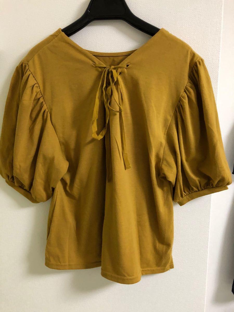 Tシャツ カットソー トップスLサイズ