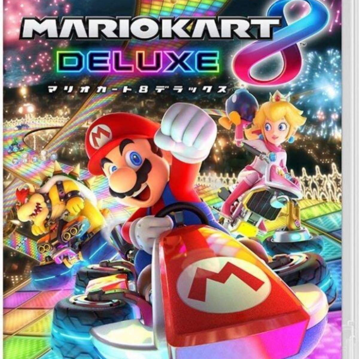 即決 新品未開封 送料無料マリオカート8 デラックス switchソフト2本