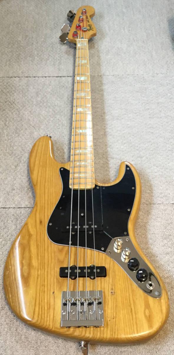 Vintage Fender USA JazzBass フェンダー ジャズベ 80年製 本体のみ ジャンク 音は問題