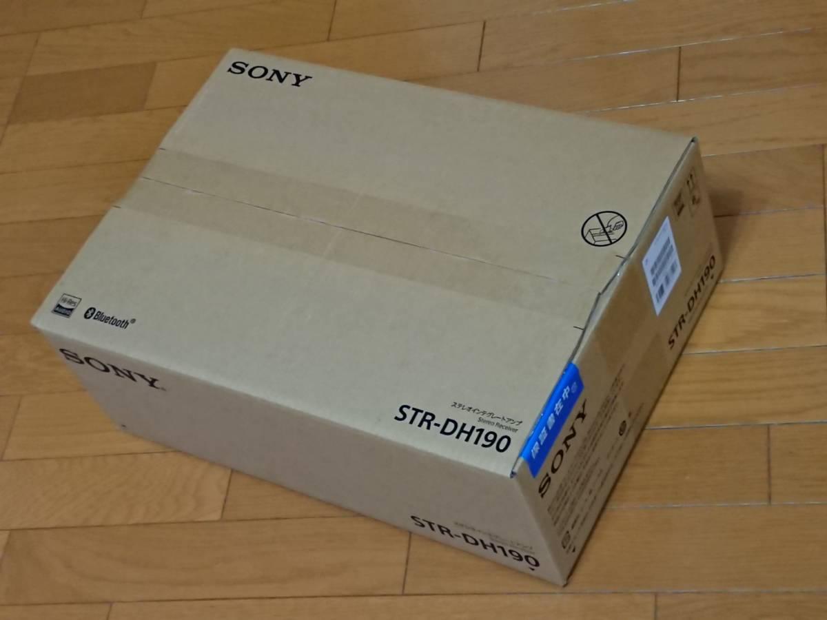 ★★ 新品?未使用 2020年7月購入 SONY Bluetooth対応ステレオアンプ STR-DH190 ブラック