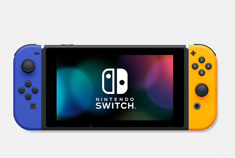 【新品・未開封・抽選当選者限定・送料込】任天堂スイッチ本体・Nintendo Switch ブルー/ネオンオレンジ