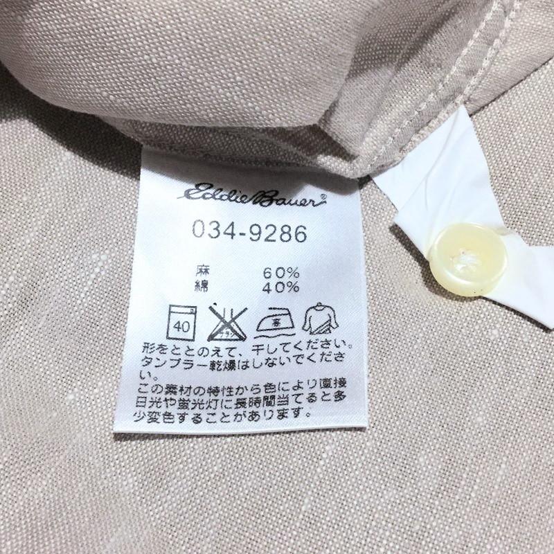 《郵送無料》■Ijinko◆美品◆エディーバウアー Eddie Bauer L サイズ半袖ポロシャツ