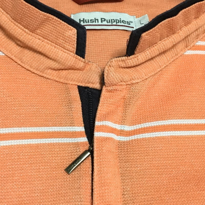 《郵送無料》■Ijinko◆ハッシュパピーアパレル(Hush Puppies Apparel) L サイズ半袖ポロシャツ