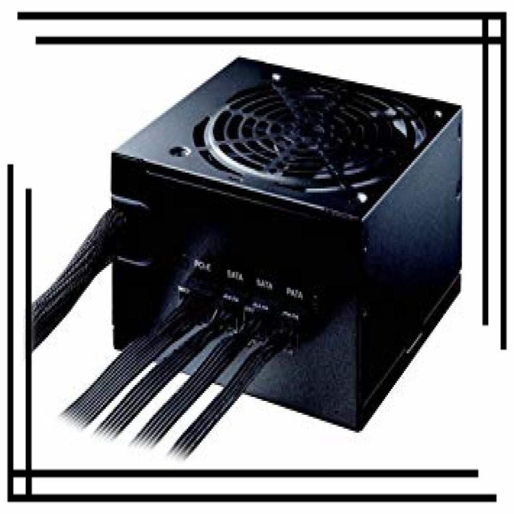 玄人志向 電源 KRPW-BKシリーズ 80PLUS Bronze 550W ATX電源 KRPW-BK550W/85+_画像1