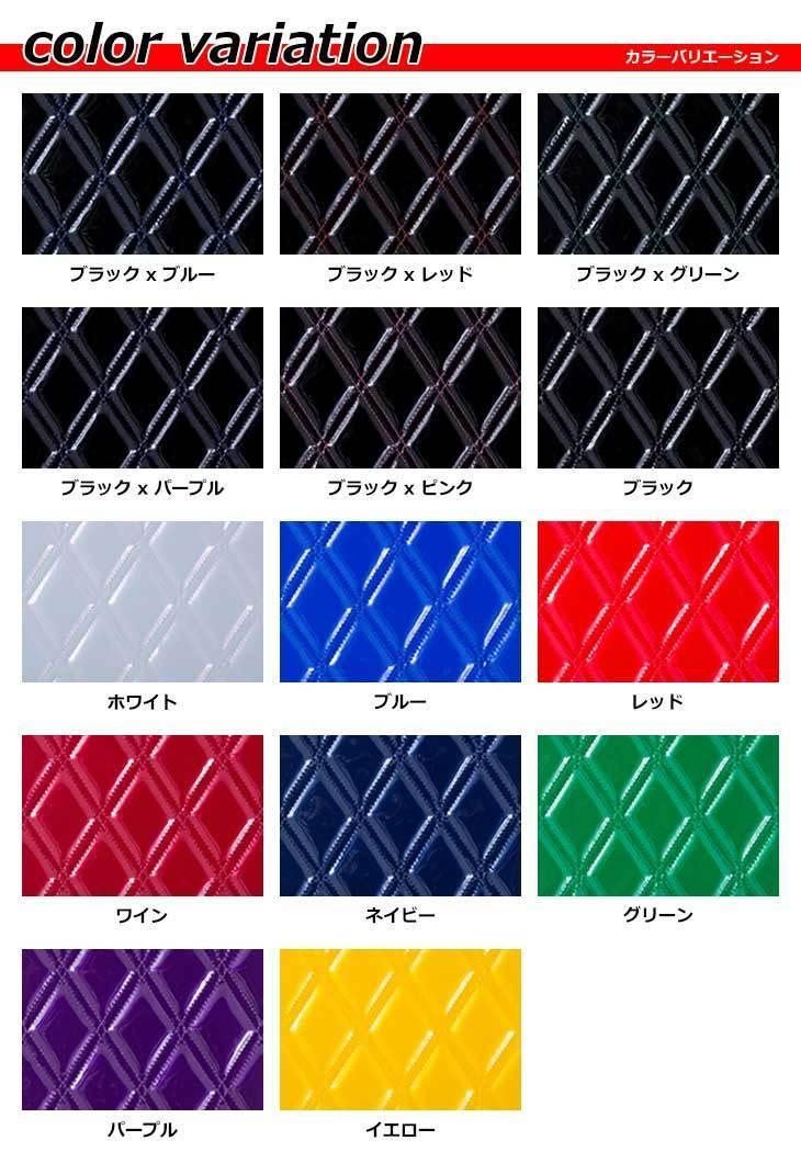 MADMAX トラック用品 月光ZEROダブル ダッシュマット ブラック/ブルー いすゞ 07エルフワイド H19/01 ~ (ハイキャブ)【送料無料】_画像2