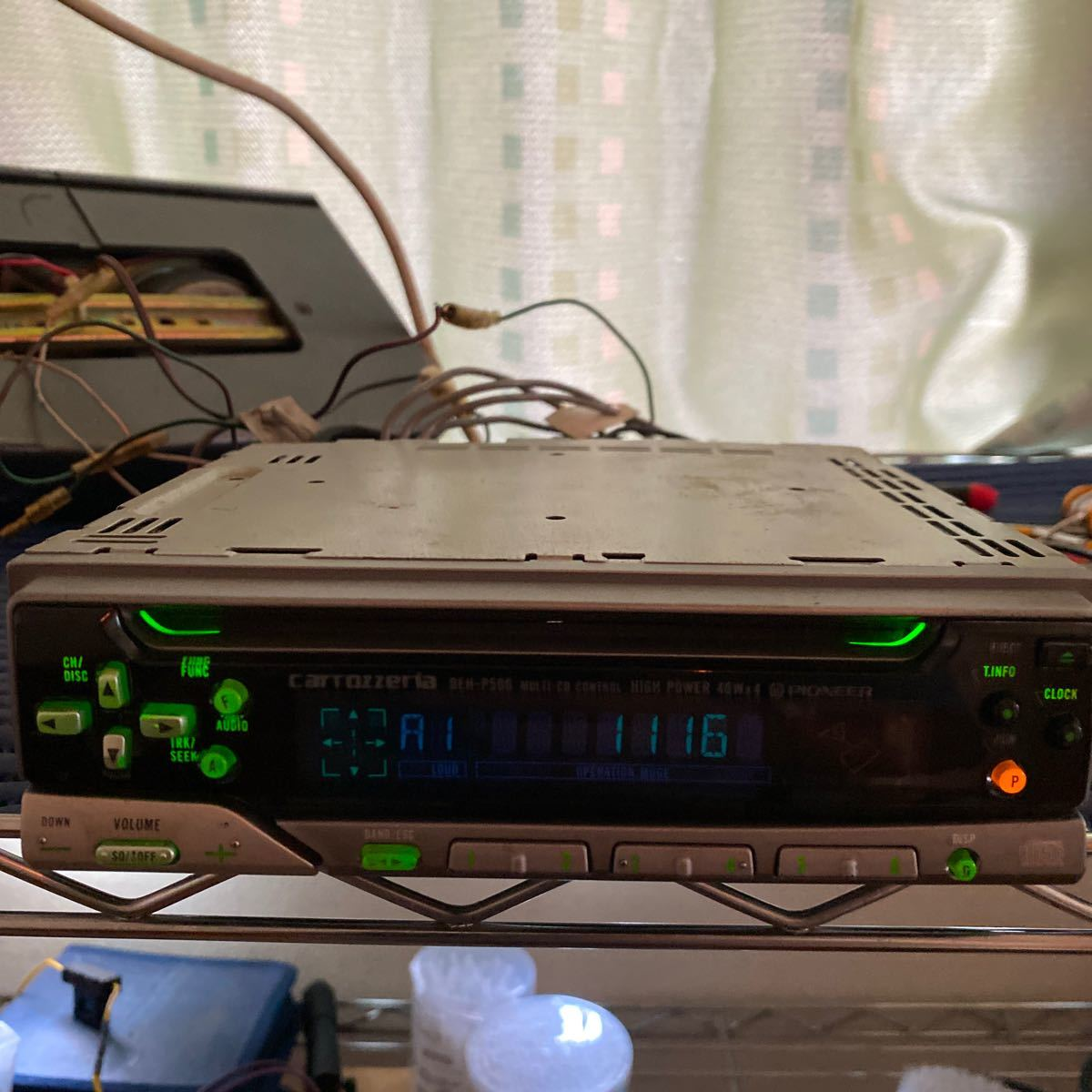 PIONEER CDプレーヤー DEH-P500 動作確認済み_画像4