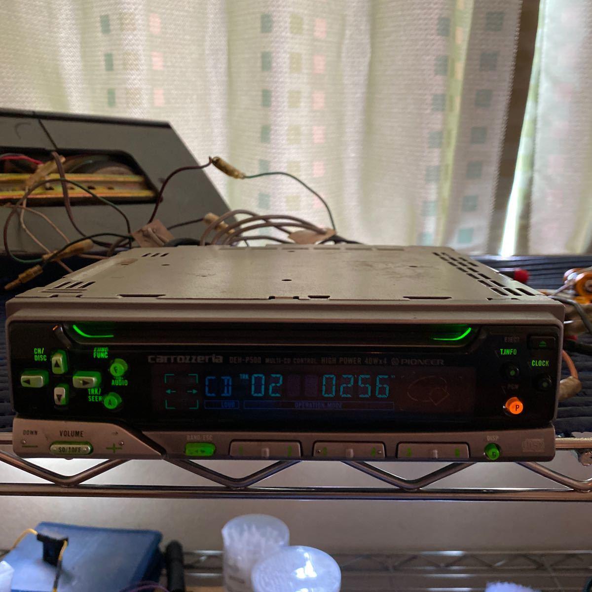 PIONEER CDプレーヤー DEH-P500 動作確認済み_画像2