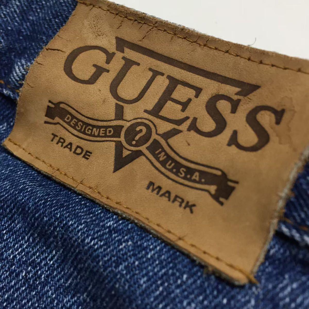#1457 GUESS ゲス 90s デニム ハーフパンツ ショートパンツ