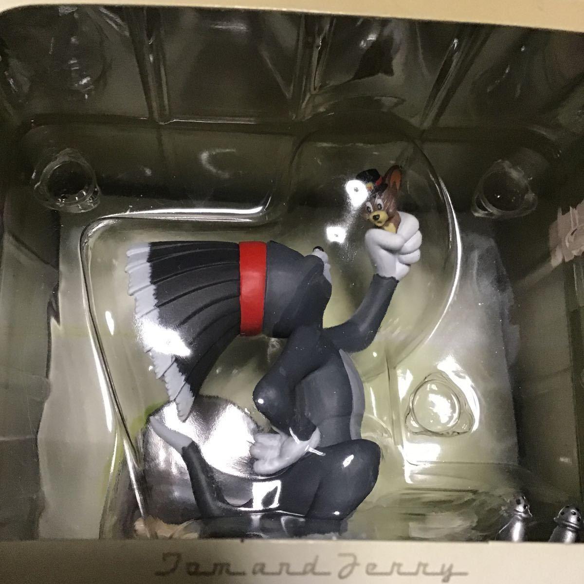 新品 トムとジェリー ヴィネットフィギュア no.3 no.4 TOMandJERRY 人形 インテリア ビンテージ レア 海外キャラクター 猫 ネズミ figure