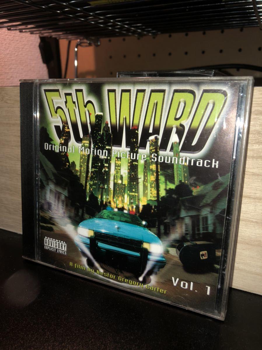 5th ward「Original Motion Pictur Soundtrack vol.1」g-rap g-funk gangsta